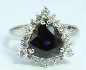 Gia Certified Sapphire4.00ct
