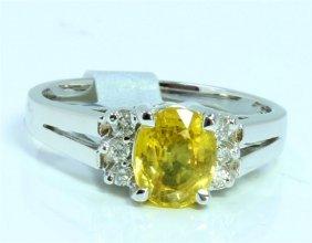 Yellow Sapphire 1.22ct