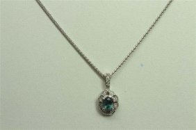 Natural Alexandrite 0.96ct Diamond 0.11ct