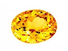 19.28 Ct Natural Yellow Tourmaline