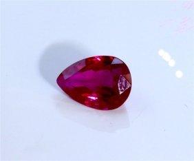 Gia Natural Ruby 1.00 Ct