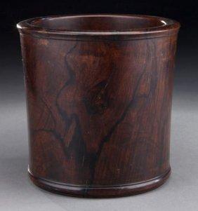 Chinese Huanghuali Brush Pot.