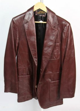 Europa Internationale Ck Slaughter Leather Jacket