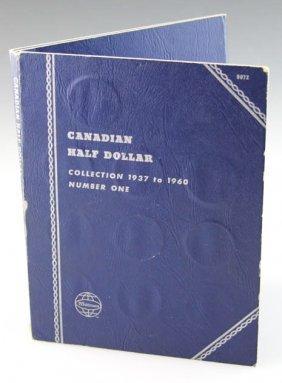 1937-1960 Canada Half Dollars In Album
