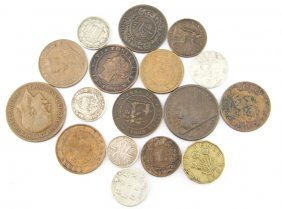 Mixed Lot World Coins