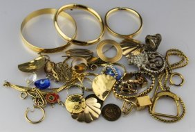 Mixed Gold Filled/plated Ladies Jewelry