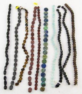 Mixed Lot Semi-precious Stone Crafting Beads