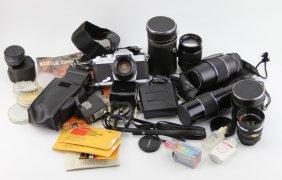 Chinon Cs Camera With Accessories