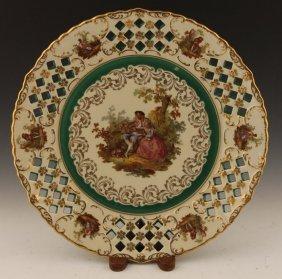 Porzellan Imperial Germany Plate '15'