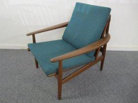 Gorgeous Danish Modern Teak Lounge Chair