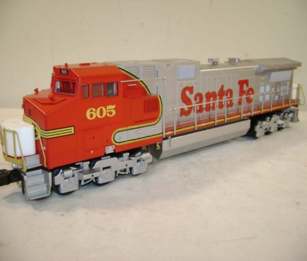 908 Abt Lionel 18254 Sf 605 Command Dash 9 Ob Lot 908