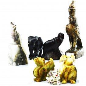 7 Animal Decorative Pieces