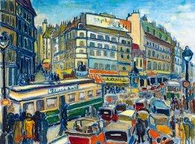 Sreier Andras, 1901-?, Paris (grand Boulevard), 1929