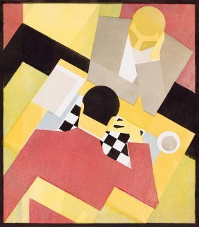 Unknown Artist 1920s, -, Chess Players