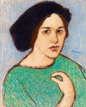Rippl-ronai Jozsef, 1861-1927, Female Portrait