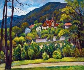 Bank Erno, 1883-1962, Villas In Huvosvolgy, 1935