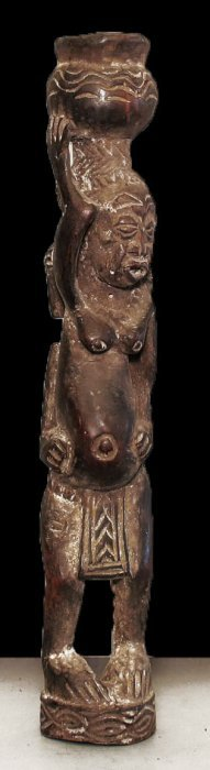 A Fine Female Statue From Bamun People Of Cameroon 53