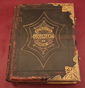 Holy Bible 1900 Welsh Language;porth City Wales