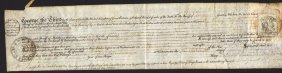 England 1800 Parchement Summons Document