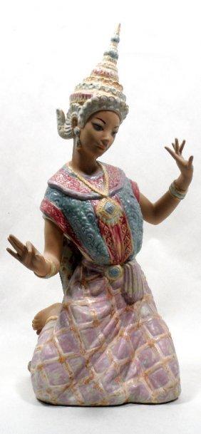 "Lladro ""Tai Dancer"" Porcelain Figurine"