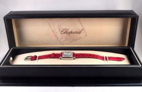 "Chopard ""Happy Sport"" Diamond Watch"
