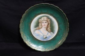 Royal Vienna Hand Painted Porcelain Plate