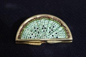 Judith Leiber Swarovksi Crystal Pill Box