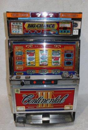 Continental Iii Big Chance Slot Machine