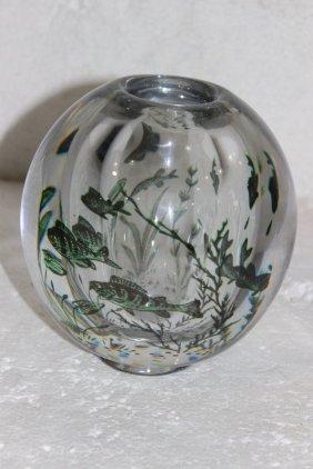 Orrefors Crystal Fish Bowl
