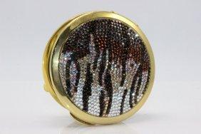 Judith Leiber Swarovski Crystal Compact