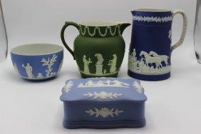 4 Pc. Wedgwood Jasperware Pieces
