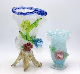 2 Pc. Murano Glass Pieces
