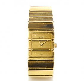 18k Piaget Polo Wristwatch