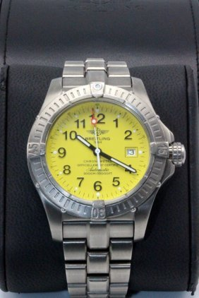 "Breitling ""avenger Seawolf"" Wristwatch"