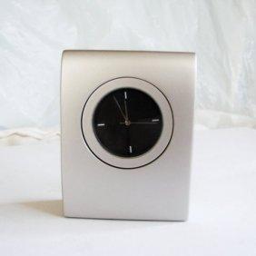 Titanium Quartz Clock Desk Japan Movt