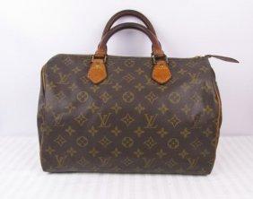 Louis Vuitton Speedy 30 Monogram Handbag