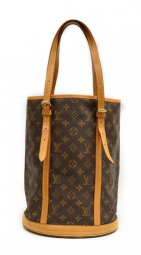 Louis Vuitton Monogram Canvas Bucket Bag