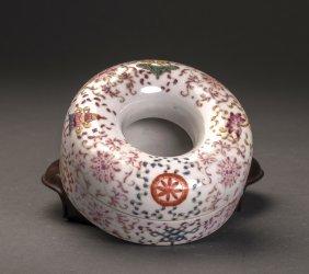 17th/18thc Famille-rose Glazed Porcelain Box