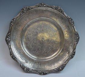 Ottoman Silver Plate