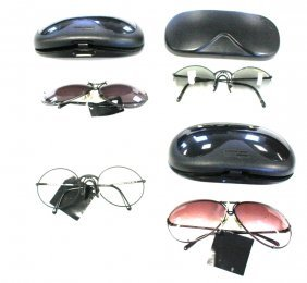 Lot Of Vintage Porsche Design Sunglasses