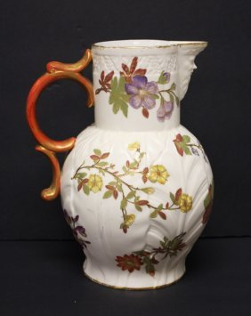 Royal Worchester Porcelain Pitcher