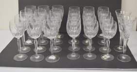 Miscellaneous Lot Of Waterford Crystal Stemware
