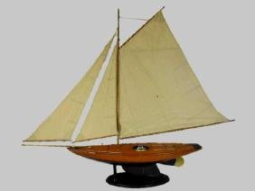 Wooden Sailing Ship Model, 'Bluebell'