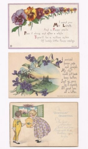 Antique And Vintage Postcard Collection, (200+)
