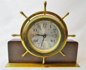 Seth Thomas Ship's Clock, Helmsman E537-001