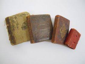 Four 19th Century Miniature Books (1802-1851)