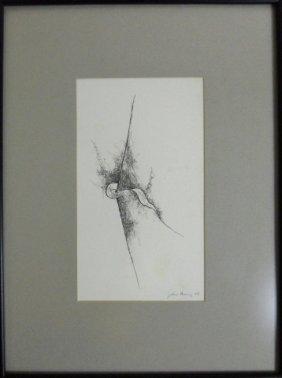 Pen & Ink, Abstract, John Henry (american, 1943-)