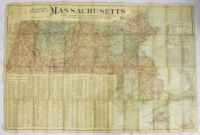 1903 Scarborough Topical Map Of Massachusetts