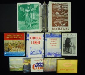 Circus Programs, Books & Magazines (70)