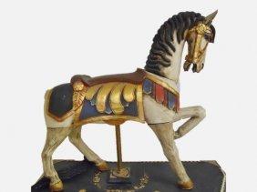 Vintage Coney Island Style Carousel Horse